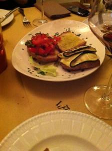 Restaurante em Siena